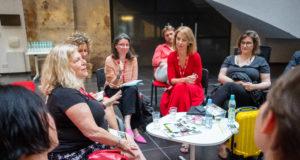 Spotkanie podczas DOC LAB POLAND Co-Production Market 2018, fot. Kamila Szatan KFF