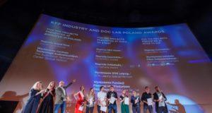 Nagrody DOC LAB POLAND na Krakowskim Festiwalu Filmowym. Fot. Kamila Szatan KFF